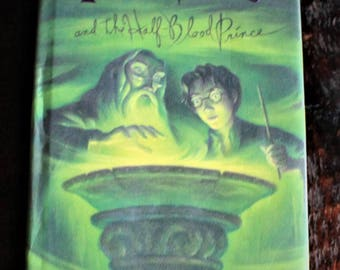 HARRY POTTER and the Half-Blood Prince ~ 1st Edition 1st Print ~ Hardcover