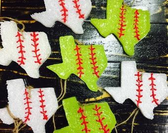 Baseball/Softball Texas Oklahoma Air Freshener Aroma Beads The Krazy Kactus