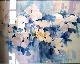 """Tina Smith """"Whitney Floral II"""""""