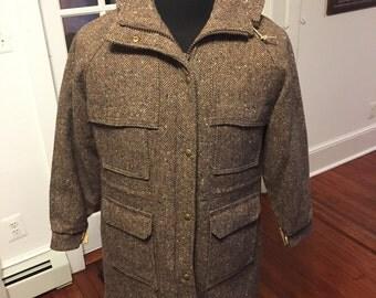 Vintage Woolrich Woman's Wool Coat