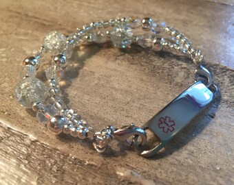Interchangeable Medical ID bracelet