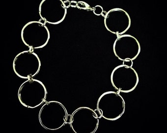 Chrome Chain Link Bracelet
