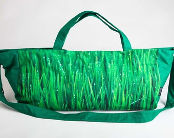 Yoga Bag Yoga Tasche Gym Bag Grass Green
