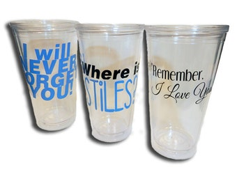 Teen Wolf Inspired Design Cups