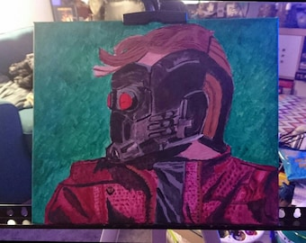 Starlord: Guardians of the Galaxy Canvas