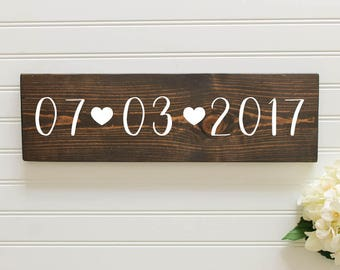 Save the Date Wedding Sign| Wooden Save the Date Sign| Rustic Wedding Decor| Wedding Decor| Spring| Summer Wedding| Save the Date Photo Prop