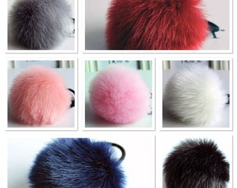 Pom pom hairband, fur hair band, hair accessories, furry hair band, hair band, babys hair band, girls hairband, womens hair band, hair band