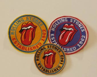 Rolling Stones Patch, Rolling Stones Applique