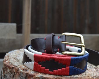 Leather Belt - The Patriot