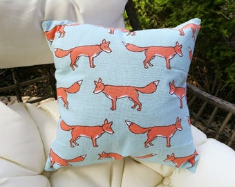Fox Cushion with insert | FREE SHIPPING