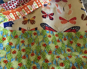 Butterfly/Lady Bug Reversible  Reversible Bag