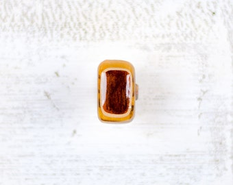 Wood Ring Size 5.5
