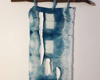 I Dream In Blue shibori on silk