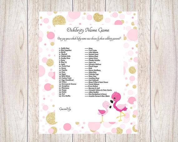 Things For Baby Showers Uk ~ Items similar to baby shower ideas celebrity
