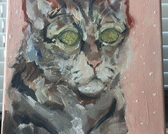 Which is it? Cat painting original