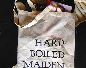 Hard Boiled Maiden Tote Bag | Classic Hollywood | Woman's Pictures