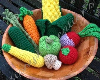 Crochet Vegetables