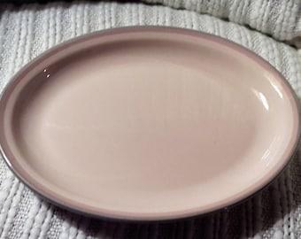Pfaltzgraff Pink Aura Oval Platter Large