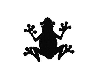 Frog Machine Embroidery Design, Frog embroidery design, Frog design, Frog embroidery pattern, Frog machine embroidery pattern