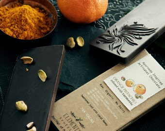 Orange & Pistachio with Turmeric Infusion