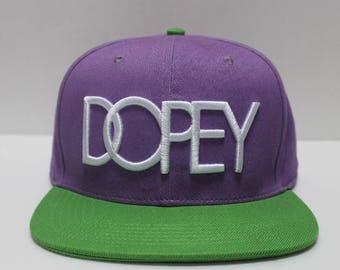 Dopey Snapback Hats