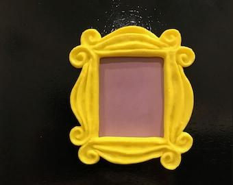 Yellow Friends Frame Magnet Monica Peephole