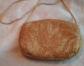Bechamel Gold Purse Handmade in China