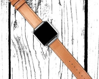 Fitbit Blaze Watch Band Genuine Leather Brown 22mm Smart Watch Straps Single Tour Wrist Bracelet With Fit Bit Frame for Women and Men