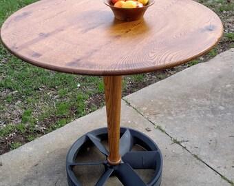 1617-Oak Pub Table
