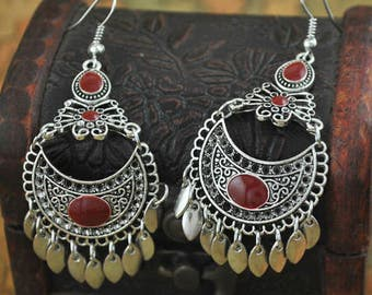 Djerba mood earrings / / / Oriental Gypsy Boho