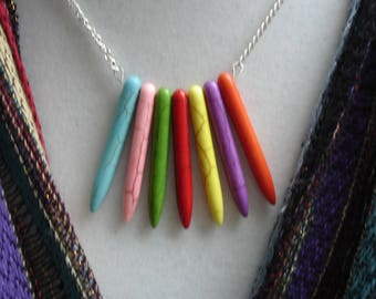Children's Pendants | Kids Dangle Necklace | Kids Icicle Necklace | Kids Jewelry | Teen Jewelry