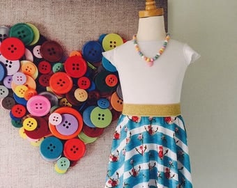 Handmade size 5 Skater skirt