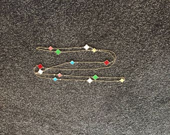 Vintage Flower Design Necklace