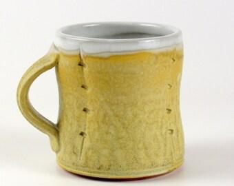 """Woodfired stoneware mug (4.5"""" x 4.5"""")"""
