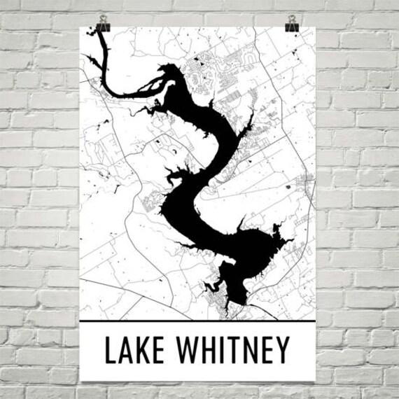 Lake Whitney Texas Lake Whitney TX Texas Art Texas Decor