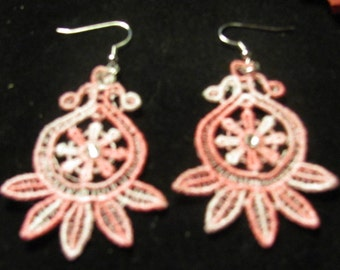 Deb Embroidered Earrings