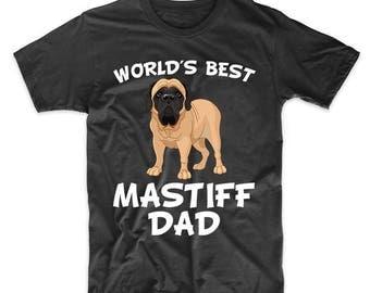World's Best English Mastiff Dad Dog Owner T-Shirt