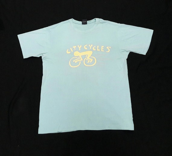 Sale! Vintage Keith Haring tshirt Baby Blue Colour