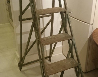 Vintage London Made Lattice Ladder (SOLD)