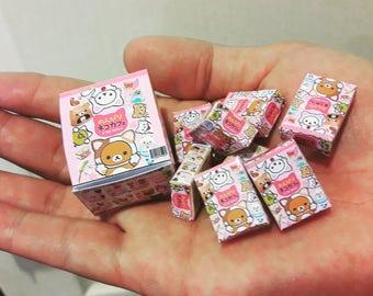 Rilakkuma Tiny rement boxes miniature