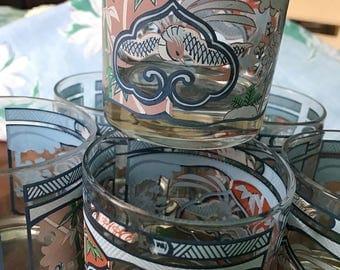 Georges Briard vintage glassware
