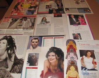 SHANIA TWAIN    #3  CLIPPINGS  #0511