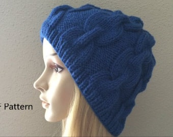 Link hat knit Etsy