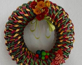 xmas decor wreath