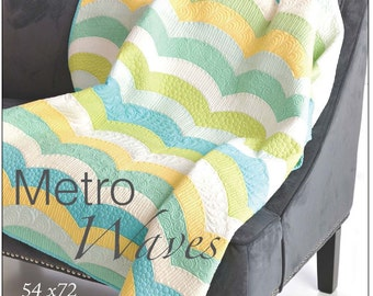 Metro Waves Quilt Pattern by Sew Kind of Wonderful