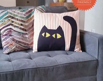Scaredy Cat Pillow and Quilt Pattern