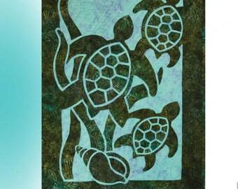 Turtle Beach Quilt Pattern
