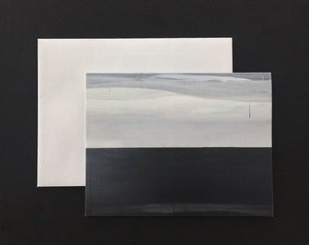Somewhere Beyond - Horizon Collection Folded Note Card