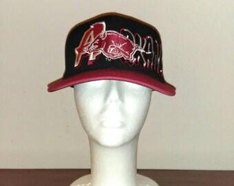 Arkansas Razorbacks vintage hat