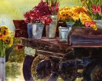 Truckbed Full of Flowers